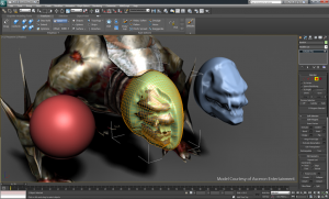 3ds Max Graphite Modeling