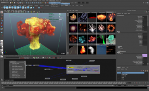 Maya 2012 Simulation