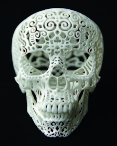 Joshua harker podcasts with sculptor Bridgette Mongeon on 3D printing and technology ad art